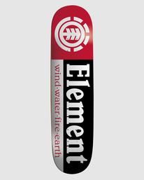 0 Section Skateboard Deck Multicolor BDLGMSEC Element