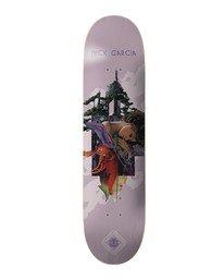 0 Cut Paste Garcia Skateboard Deck Multicolor BDPR3CPN Element