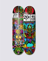 0 Asar Cookie Skateboard Deck Multicolor BDPR3LSC Element