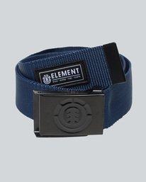 0 Beyond - Cintura da Uomo Blue C5BLA1ELP7 Element