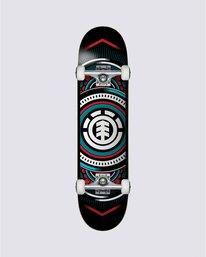 0 Hatched Blue Red Skateboard Complete  COLG3HTC Element