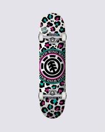 0 Leopard Party Skateboard Complete  COLG3LPR Element