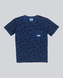 0 Indigo Cr Ss - Knit for Men  F1KTB6ELF7 Element
