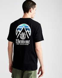 4 Tri Tip Ss - Tee Shirt for Men  F1SSC3ELF7 Element