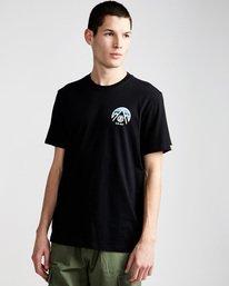 0 Tri Tip Ss - Tee Shirt for Men Black F1SSC3ELF7 Element