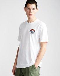 0 Tri Tip Ss - T-Shirt pour Homme Blanc F1SSC3ELF7 Element