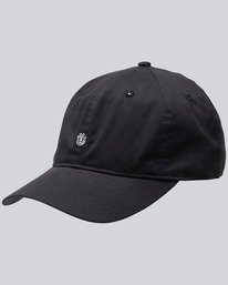 0 Fluky - Cappellino Dad da Uomo Black F5CTA2ELF7 Element