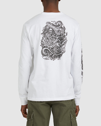 3 Acceptance Long Sleeve Tee White G512051 Element