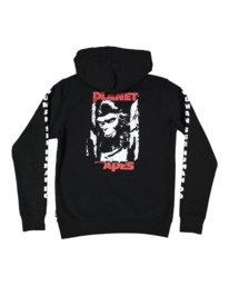 5 PlANET OF THE APES SURGE HOODIE Black G512304 Element