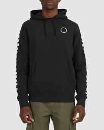 1 PlANET OF THE APES SURGE HOODIE Black G512304 Element