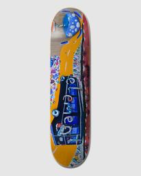 """0 SHROOM TOUR 8.35"""" SKATEBOARD DECK Multicolor G512954 Element"""