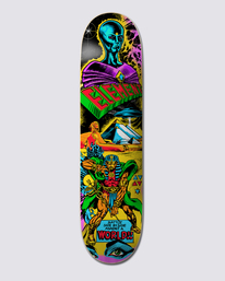 """0 ESCAPE FROM THE WORLD 8.25"""" SKATEBOARD DECK Multicolor G512956 Element"""