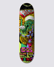 """0 ESCAPE FROM THE MIND 8.38"""" SKATEBOARD DECK Multicolor G512957 Element"""