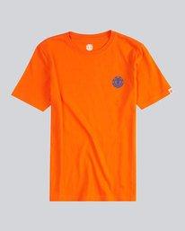 0 Script Back Ss Boy S - Tee Shirt for Men Naranja H2SSA4ELMU Element
