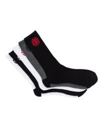 0 High-Rises 5 Pack - Socken für Herren  H5SOA6ELPP Element