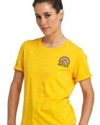 2 Branded T-Shirt Yellow J4031EBR Element