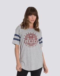 0 Pine Short Sleeve Football Tee  J440MPIN Element