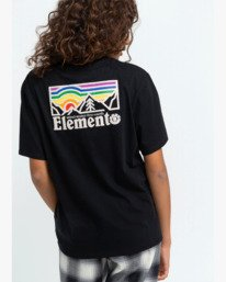 0 Landscape T-Shirt Black J4523ELA Element