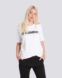 0 ELEMENT LOGO CR White J467QEEL Element