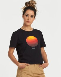 0 National Geographic Crop T-Shirt Black J4981ENA Element