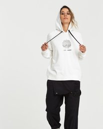 0 National Geographic Hoodie White J6041ENG Element