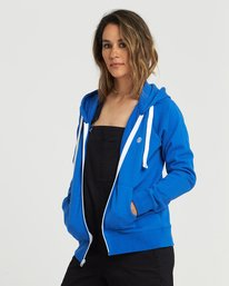 0 Lette Zip Hoodie Blue J6101ELZ Element