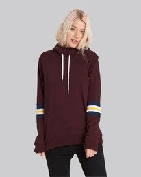 0 Amour Hoodie Red J633SEAM Element
