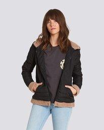 0 Sherpy Jacket Black J713SESH Element
