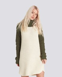 0 Chance Sweater Dress Beige JD71SECH Element