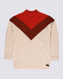 0 Rising Sun Sweater White JV28VERS Element