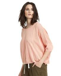 0 Memories Oversized Sweater Top Pink JV99NEME Element