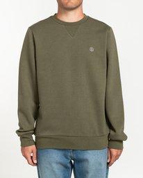 1 Cornell Classic - Sweatshirt für Herren Grün L1CRA1ELF8 Element