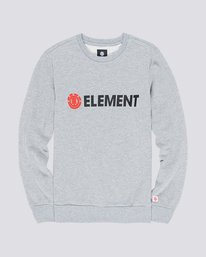 0 Blazin - Sweatshirt Gray L1CRA9ELF8 Element