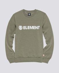 0 Blazin - Sudadera para Hombre Marron L1CRA9ELF8 Element