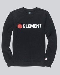 0 Blazin - Sweatshirt für Männer Schwarz L1CRA9ELF8 Element