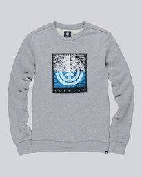 0 Reroute Crew - Fleece for Men  L1CRB3ELF8 Element