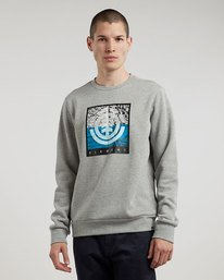 0 Reroute Crew - sweat pour Homme  L1CRB3ELF8 Element