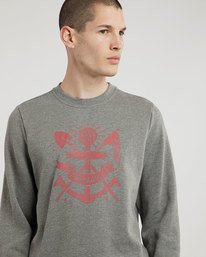 0 Pioneers Crew - sweat pour Homme  L1CRB9ELF8 Element