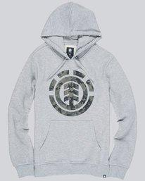 0 Bark Logo Hood - Fleece for Men  L1HOB5ELF8 Element