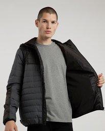 0 Alder Puff Tw - giacca da Uomo Black L1JKB2ELF8 Element