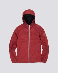 0 Alder - Hooded Jacket Red L1JKB5ELF8 Element