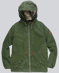 0 Stark Raglan - Jacket for Men Green L1JKC1ELF8 Element