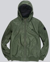 0 Dulcey - Chaqueta con capucha para Hombre Verde L1JKC2ELF8 Element