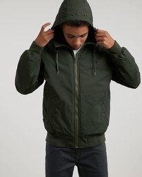 0 Dulcey - Hooded Jacket Green L1JKC2ELF8 Element