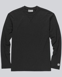 0 Esp Cbn Ls Knit - Knit for Men Black L1KTF1ELF8 Element