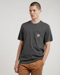 0 Basic Pocket Label - Tee Shirt for Men  L1SSA3ELF8 Element
