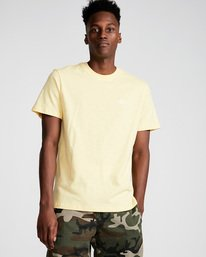 0 Crail - Short Sleeve T-Shirt for Men Yellow L1SSE5ELF8 Element