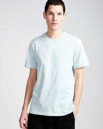 0 Crail - Short Sleeve T-Shirt for Men Blue L1SSE5ELF8 Element