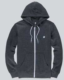 0 Cornell Classic - Zip-Up Hoodie for Men Grey L1ZHA1ELF8 Element