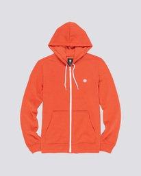 0 Cornell Classic - Zip-Up Hoodie for Men Orange L1ZHA1ELF8 Element